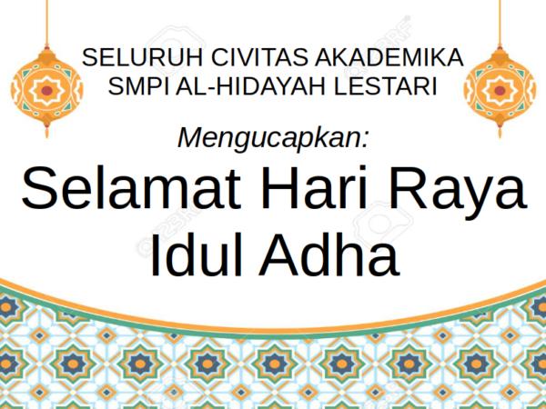 Selamat Merayakan Idul Adha