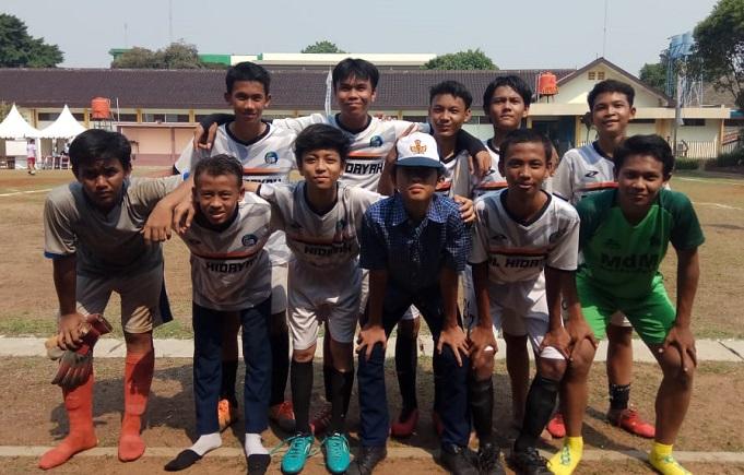 Pertandingan Final Mini Soccer