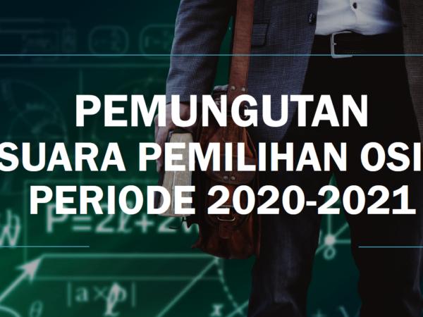 PEMUNGUTAN SUSARA PEMILIHAN OSIS PERIODE 2020-2021