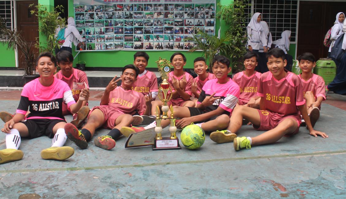 Juara Futsal Putra Kelurahan Lebak Bulus